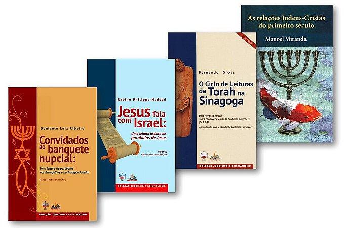 Coleção Judaísmo e Cristianismo (4 livros).
