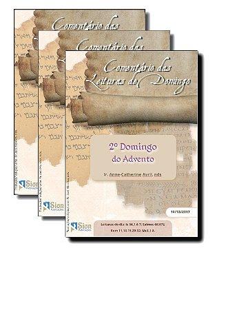 Folhetos do Comentário das Leituras de Domingo (ASSINATURA MENSAL)