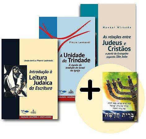 Coleção Estudos Judaicos + brinde (Novo Testamento em Hebraico).