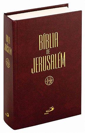 Bíblia de Jerusalém - Capa Dura.