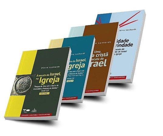 Coleção Pierre Lenhardt (4 livros).