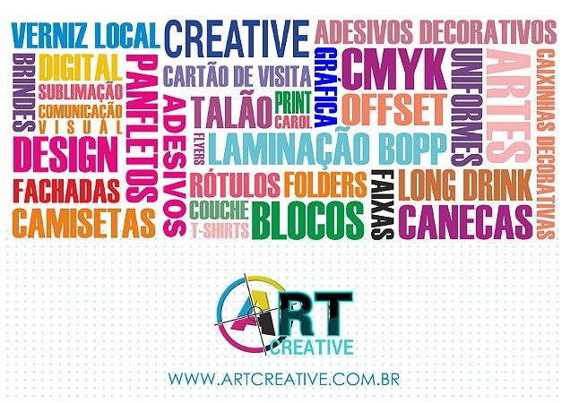 Kit de 4 talões e arte facebook