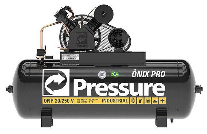 Compressor  Pressure 20 PCM 250 Litros 175 Libras