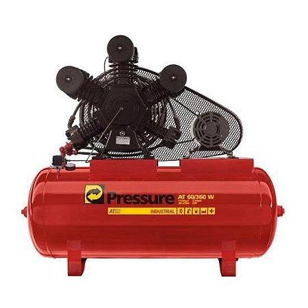 Compressor de Ar 60 Pés 360 Litros Pressure Atg2 60/360 W - 220/380V Trifásica