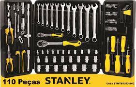 Mala de Ferramentas 110 peças Stanley