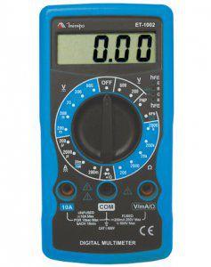 Multimetro Digital ET-1002  CAT-I 600V MINIPA