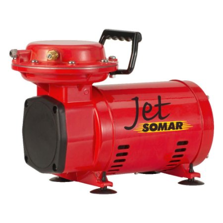 Compressor Ar Direto c/ Kit 3 pç SOMAR Bivolt