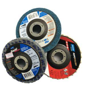 Kit de Polimento Inox 3 discos  Norton EUA