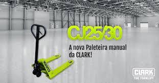 PALETEIRA 2500KG 550X1150 RODA DUPLA NYLON CLARK