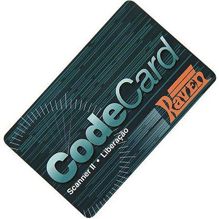 Cartão Codecard 1 Liberação Scanner II Raven 108620-03