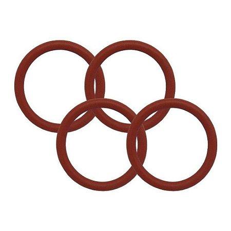 ANEL O'RING - COD: 2011 - Silicone -  1,78 X 7,65  - (10 Peças)