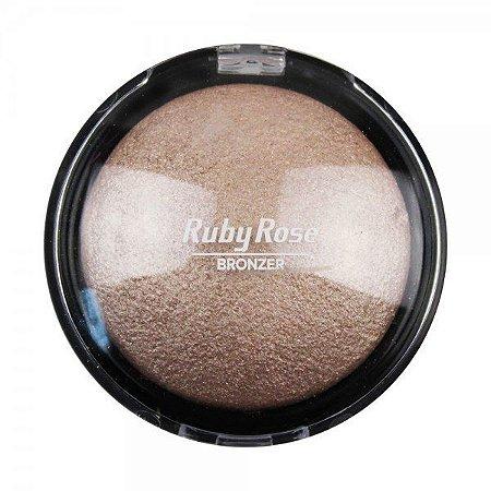 Pó bronzeador  iluminador Ruby Rose