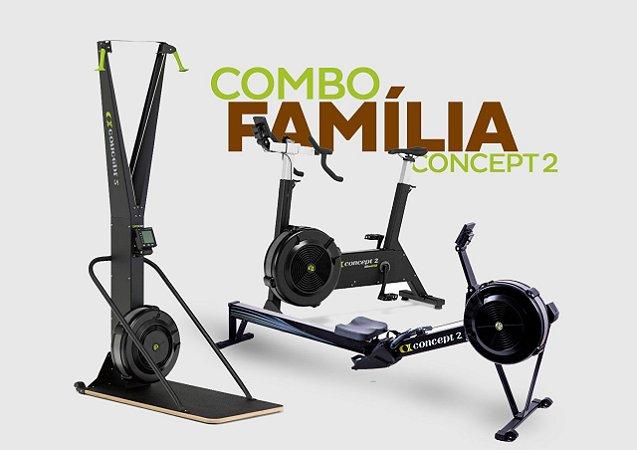 Combo Família Concept2