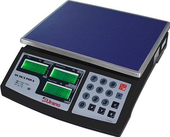 Balança Eletrônica 20 Kg COM BATERIA POP-S US 20/2 - URANO