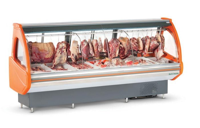 Balcão Expositor - Açougue Top 2 M REFRIMATE EAT 2000