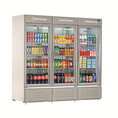Refrigerador Vertical Visa Cooler Multiuso 03 Portas REFRIMATE VCM3P