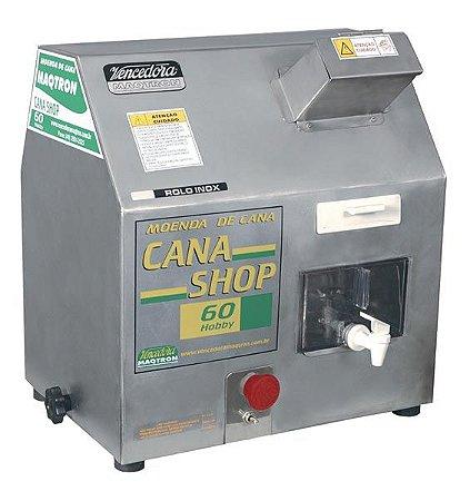 Moenda de Cana Vencedora Maqtron 220V CANA SHOP 60