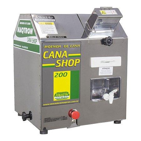 Moenda de Cana Vencedora Maqtron 220V CANA SHOP 200