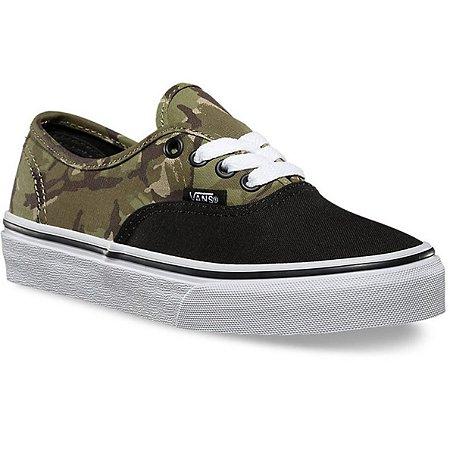 bd4f62a13dd Tênis Vans Authentic Camuflado - Bad Kid Calçados e Acessórios Infantis