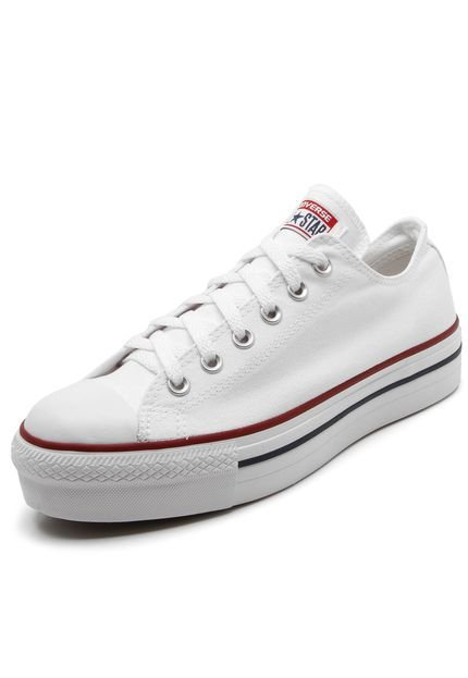 TÊNIS CONVERSE ALL STAR CT04950003 PLATAFORMA BRANCO