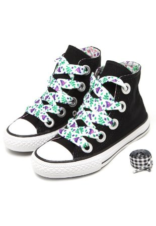 TÊNIS CONVERSE ALL STAR CT06230002 PRETO E BRANCO