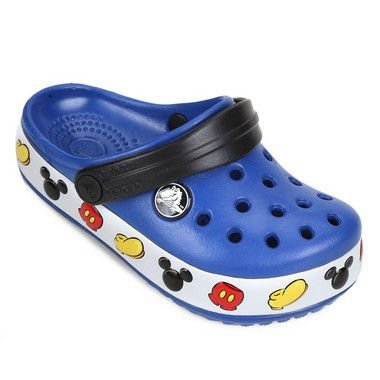 CROCS INFANTIL MICKEY AZUL ROYAL 204992-4GX