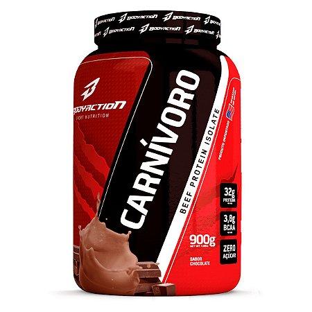 Proteína da Carne Carnívoro Isolate 900g - Bodyaction