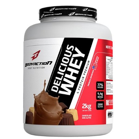 Proteina Delicious Whey 2kg - Bodyaction