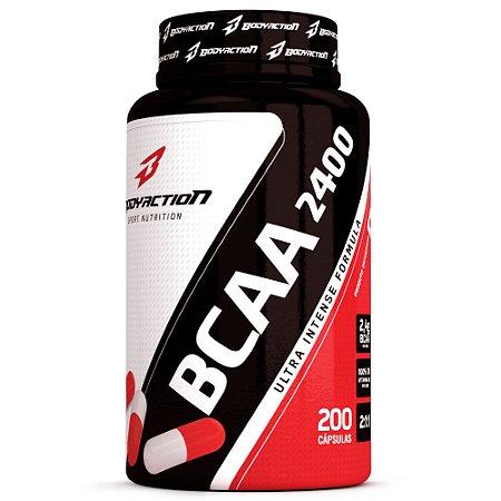 BCAA 2400 Ultra Intense Formula 200 Caps - Bodyaction