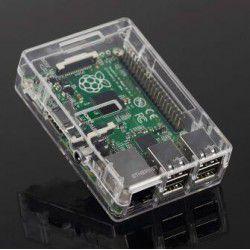 Case em Acrílico para Raspberry Pi 3 com Dissipador