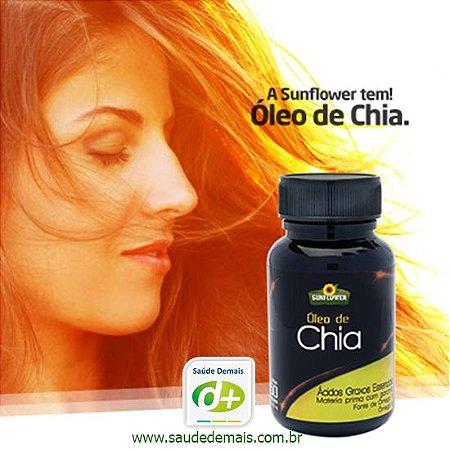 Óleo de Chia - 1,4 g - 60 Caps