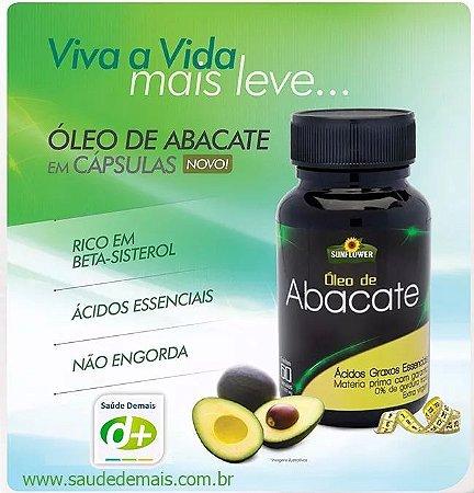 Óleo de Abacate 1,4 g - 60 Caps
