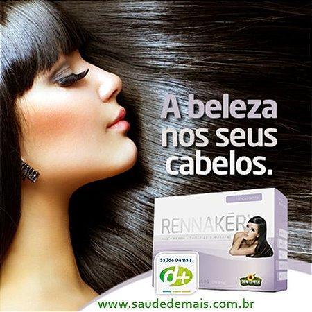 Rennakér -  Beleza para seus cabelos -  500 mg - 60 Caps