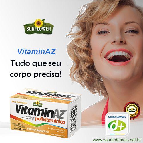 VitaminAZ Polivitamínico 650 mg - 30 Caps