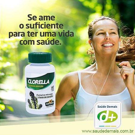 Clorella 530 mg - 60 Caps