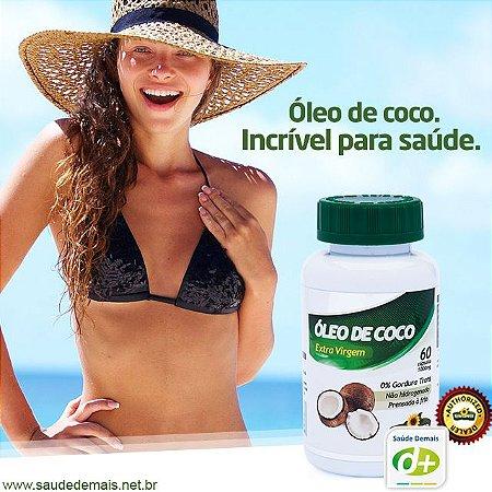 Óleo de Coco 1,4 g - 60 Caps