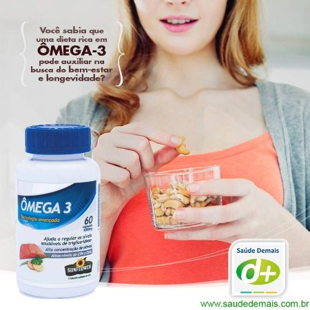 Ômega 3 1,4 g (EPA 540/DHA 360) - 120 Caps