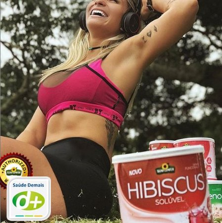 Hibiscus Frutas Vermelhas - 300G