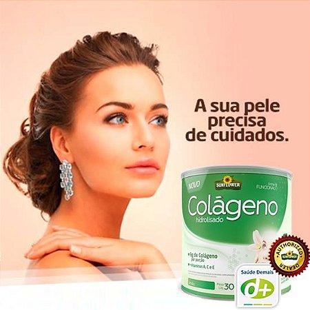 Colágeno Sabor Limão 300g  - Vitaminas A, C, E e o Zinco