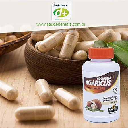 Cogumelo Agaricus 450 mg - 60 Caps