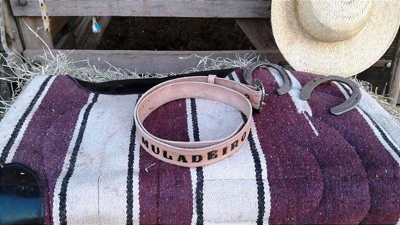 Cintos Artesanal Em Couro Legítimo Muladeiros 100% handmade ( feito a mão )  Com a 3673e6ac082