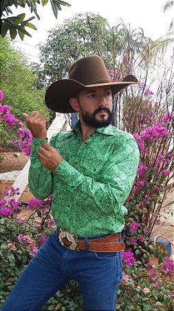 c53ccc1f52 Camisa de manga longa estampas florais masculinas   indians   diferenciadas    estilos   arrojadas