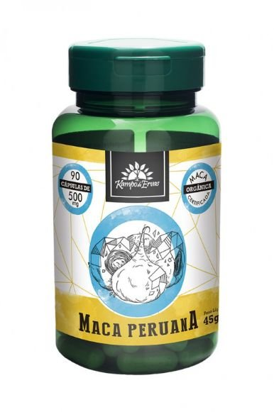Maca Peruana - 90 Cápsulas de 500mg