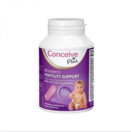 Conceive Plus (60 Cápsulas) - Apoio à Fertilidade Feminina