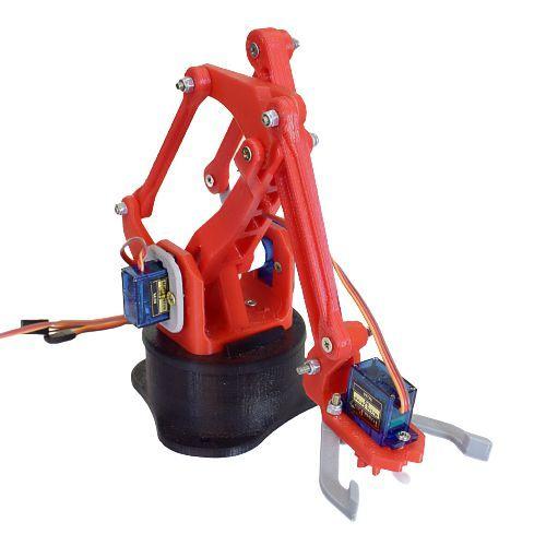 Braço Robótico 3D