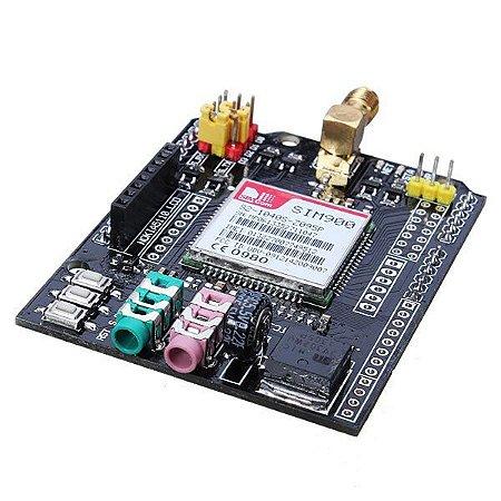 GSM GPRS Shield para Arduino EFCom SIM900 + Antena + Fonte