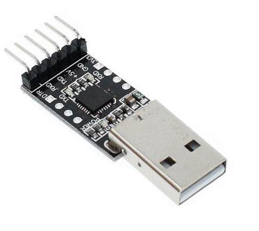 Módulo Conversor Usb 2.0 Para Rs232 Ttl Cp2102 - 6 PINOS