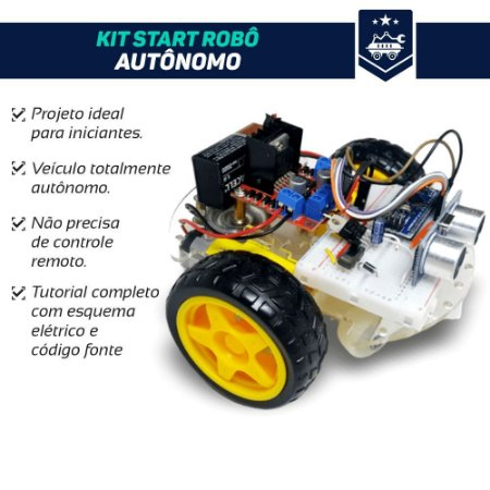 Kit Start Robô Autônomo