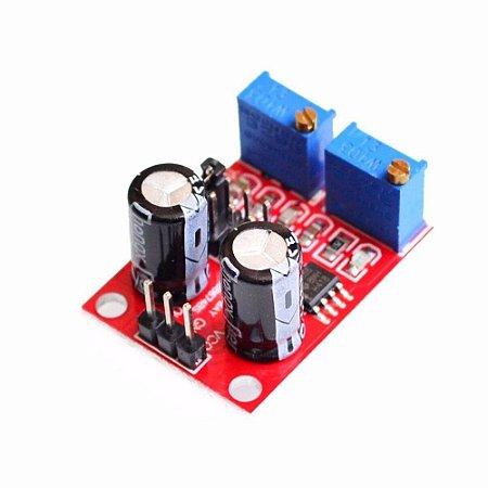 Módulo Gerador de Pulso Frequência NE555 - 1Hz a 200kHz