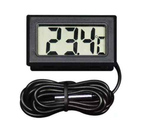 Termômetro Digital LCD para Ambientes
